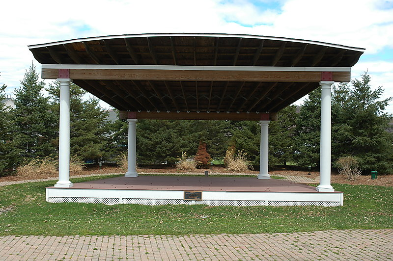 Photo of the amphitheater